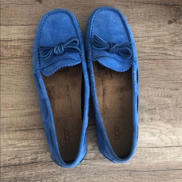 UGG Shoes - Ugg driving moccasins blue women's 8 Meena